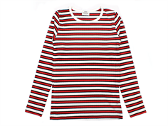 Mads Norgaard Talino bluse red black