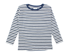Mads Norgaard Tobino t-shirt stripes dark denim