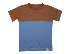 Mads Norgaard Toldino t-shirt patridge brown denim