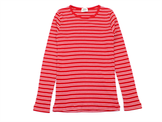 Mads Nørgaard t-shirt Talino red/white