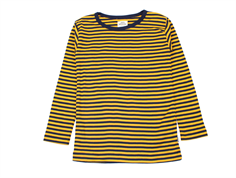 Mads Nørgaard t-shirt/bluse Tobino golden yellow