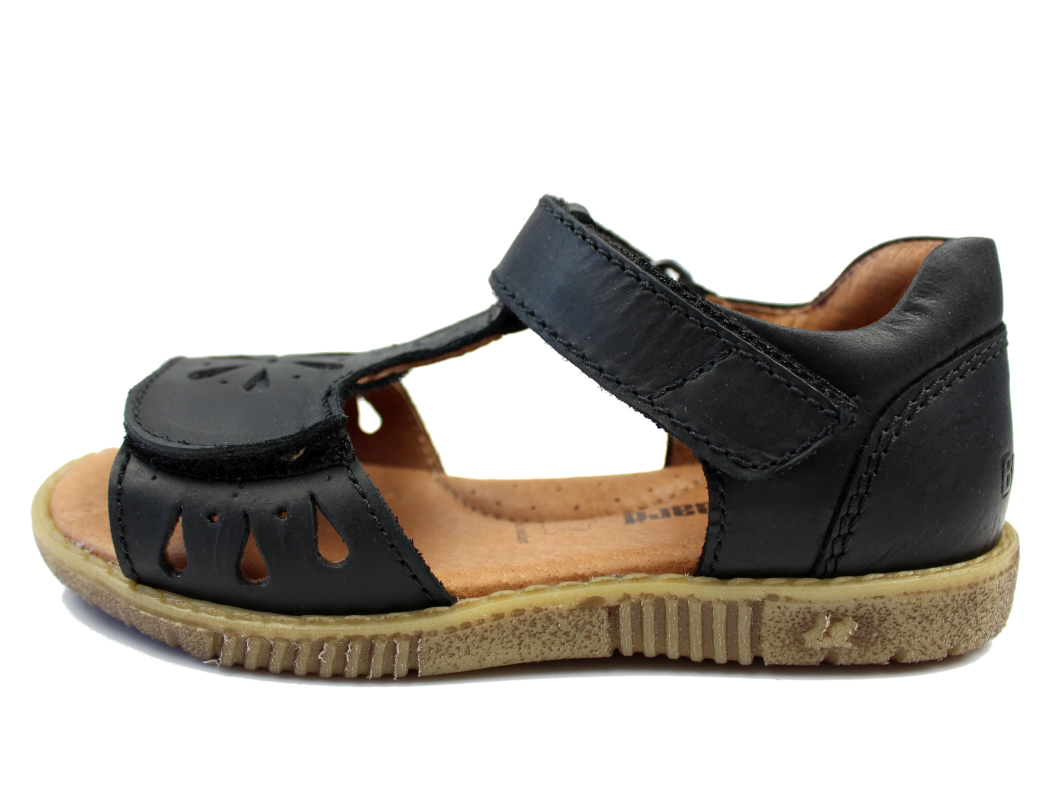 ae8b52b1 Bundgaard sandal sort til piger   BGSA088 Manillo   str. 27-34   Udsalg
