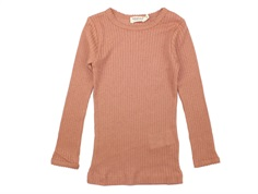 MarMar t-shirt Tamra modal pointelle rose blush