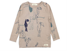 MarMar bluse Teller jungle bird print