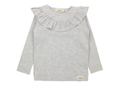 MarMar bluse Tessie light grey melange