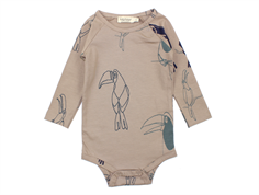 MarMar body Bo jungle bird print