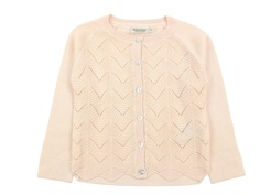 MarMar cardigan Totti peach cream