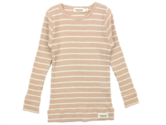 MarMar t-shirt modal burnt rose/gold lurex