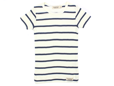 MarMar t-shirt modal stripes gentle white blue