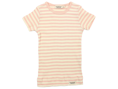 MarMar t-shirt modal stripes rose offwhite