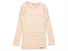 MarMar t-shirt modal stripes rose offwhite long