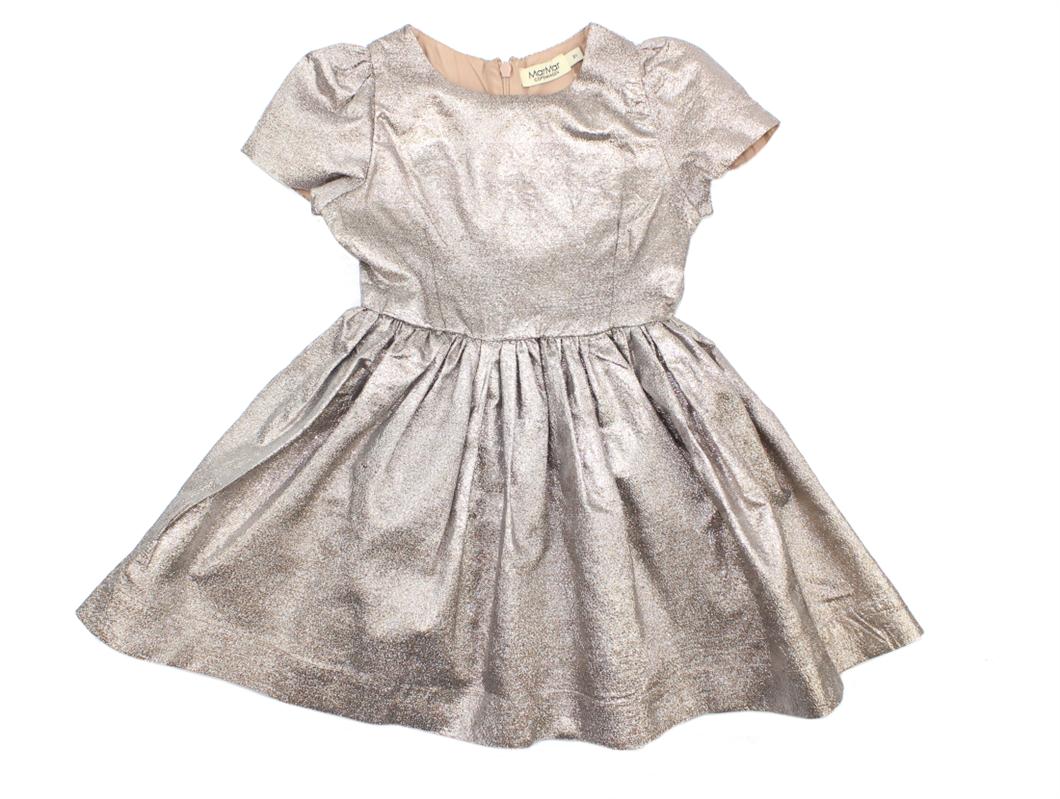 9d2f3e679e47 SS19. MarMar Doreen kjole rose gold ...