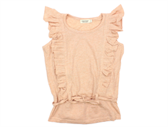 Marmar Ting top sheer rose