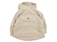 Mini A Ture overgangsjakke/anorak Vito fleece doeskind sand