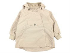 Mini A Ture overgangsjakke Wai fleece doeskind sand