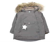 Mini A Ture Wang Fur grey steel MilkyWalk vinterjakke