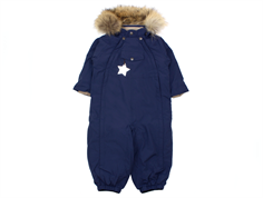Mini A Ture flyverdragt Wisti fur peacoat blue