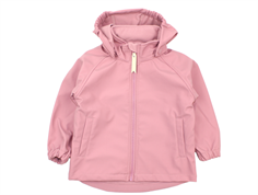Mini A Ture Aden softshell jakke lilas rose