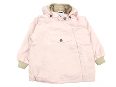 Mini A Ture overgangsjakke Wai fleece strawberry creme
