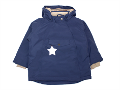 Mini A Ture vinterjakke Wang peacoat blue