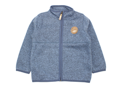 Mini a Ture cardigan/jakke Cozmo dusty blue