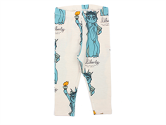 Mini Rodini leggings light grey liberty