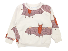 Mini Rodini Bats sweatshirt light grey