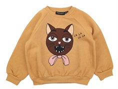 Mini Rodini sweatshirt beige cat