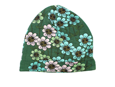 Mini Rodini Daisy beanie dark green