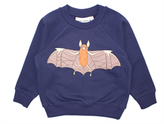 Mini Rodini Flying Bats sweatshirt navy