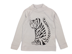 Mini Rodini t-shirt grey tiger uld