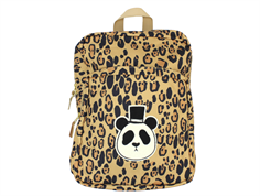 Mini Rodini backpack frogs panda beige