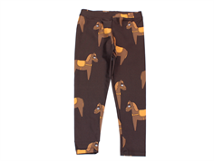 Mini Rodini badeleggings horse brown
