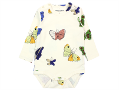 Mini Rodini body butterflies offwhite