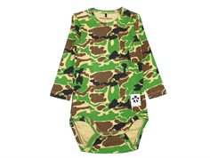 Mini Rodini body camo green