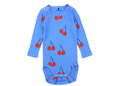 Mini Rodini body cherry blue