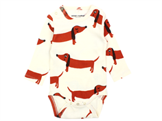 Mini Rodini body dog offwhite