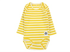 Mini Rodini body rib yellow stripe