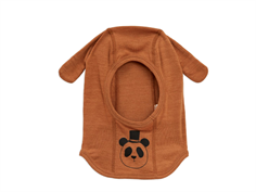 Mini Rodini elefanthue panda brown uld