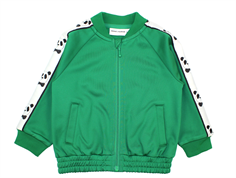 Mini Rodini jakke/cardigan panda green