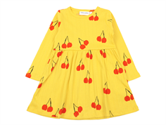 Mini Rodini kjole cherry yellow