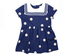 Mini Rodini kjole sailor navy