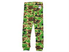 Mini Rodini leggings camo green