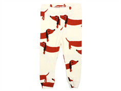 Mini Rodini leggings dog offwhite