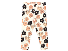 Mini Rodini leggings flowers off white