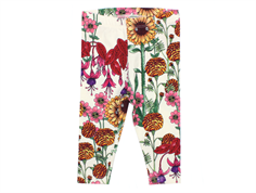 Mini Rodini leggings garden offwhite