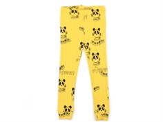 Mini Rodini leggings yellow mozart