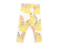 Mini Rodini leggings yellow unicorn noodles