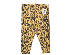 Mini Rodini leopard leggings beige