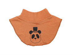 Mini Rodini neck warmer panda brown uld